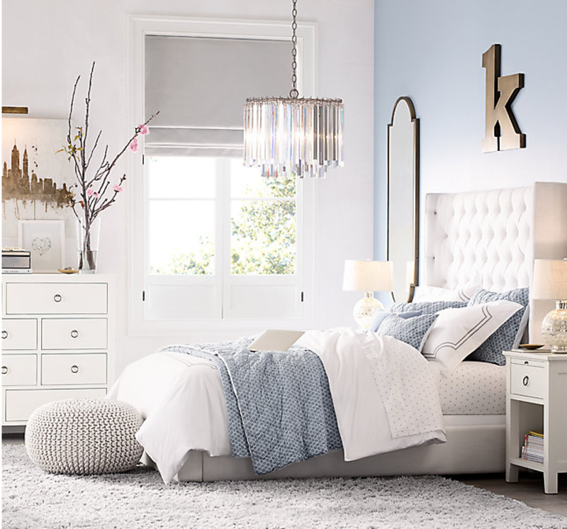 ZADIE TUFTED BED