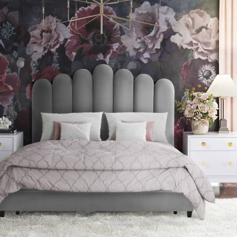 CELINE BED GREY