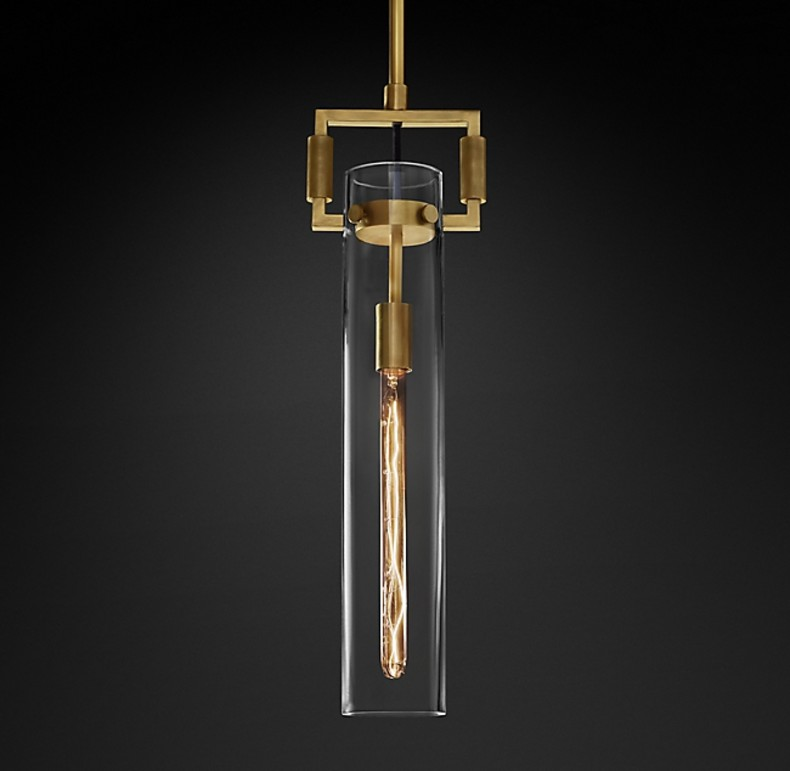 MACHINIST GLASS CYLINDER  GOLD