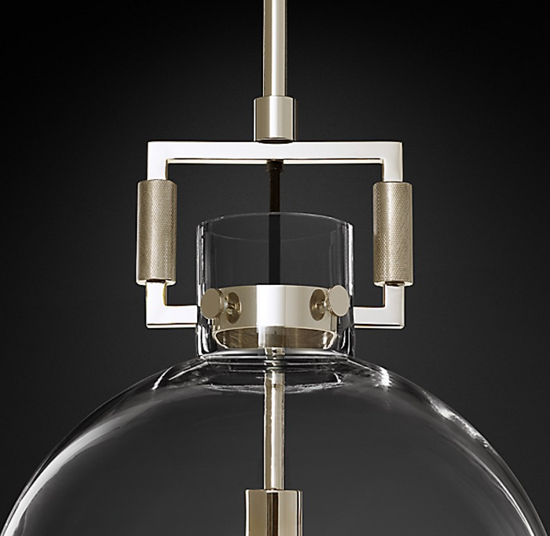 MACHINIST GLASS GLOBE NICKEL