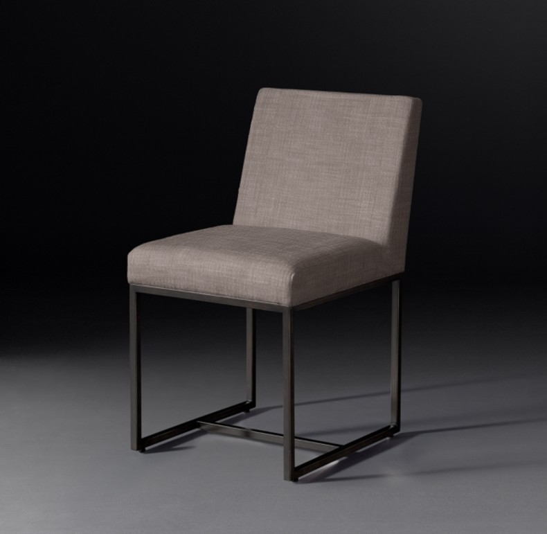 EMERY  SIDE CHAIR BRONZE