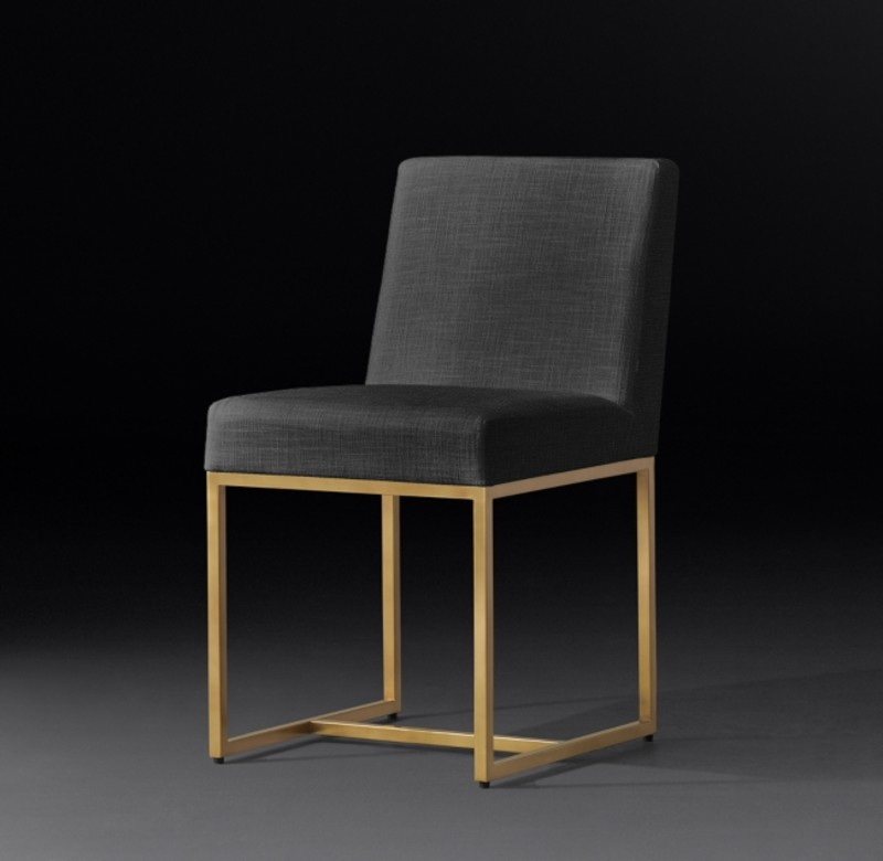 EMERY  SIDE CHAIR BURNISHED