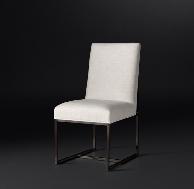 GRANT FABRIC SIDE CHAIR BRONZE