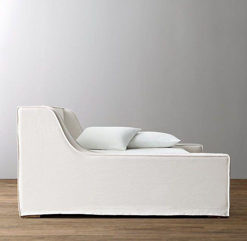 WYNNE SLIPCOVERED DAYBED